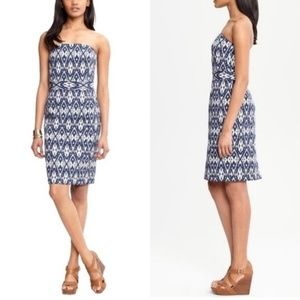 Banana Republic Ikat Strapless Dress